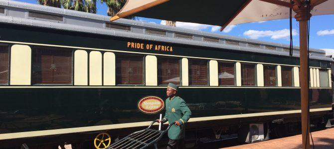 All aboard the Shongololo Express Train