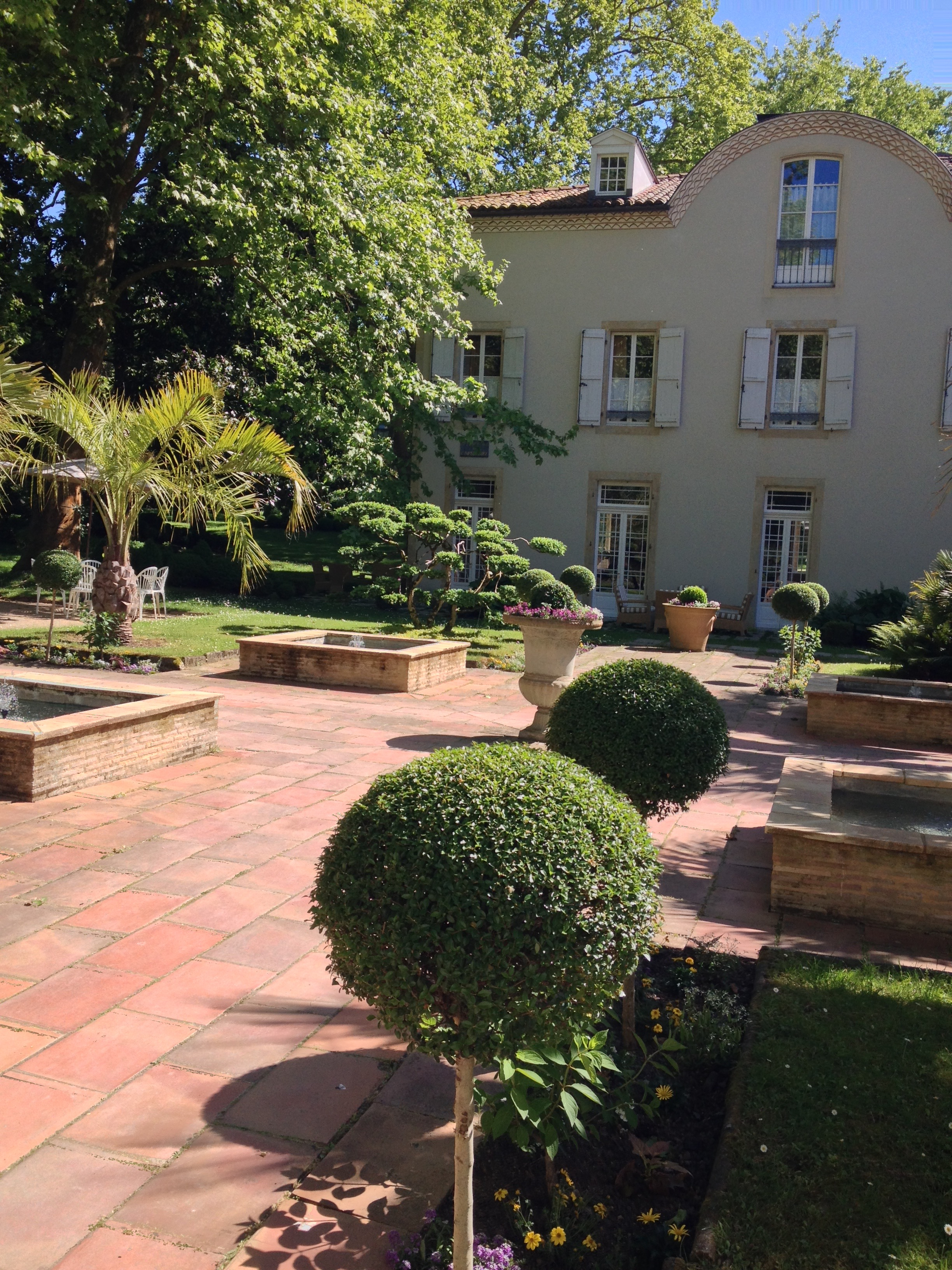 Les Pres d'Eugenie: three-star Michelin luxury hotel and spa