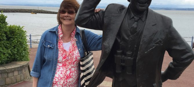 Luxury Livvy visits Morecambe in Lancashire plus a little surprise