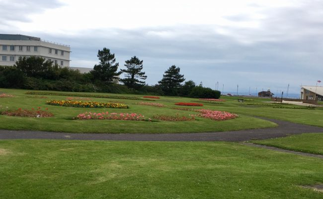 gardens at Morecambe bay