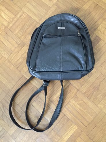 black leather rucksack/packing advice