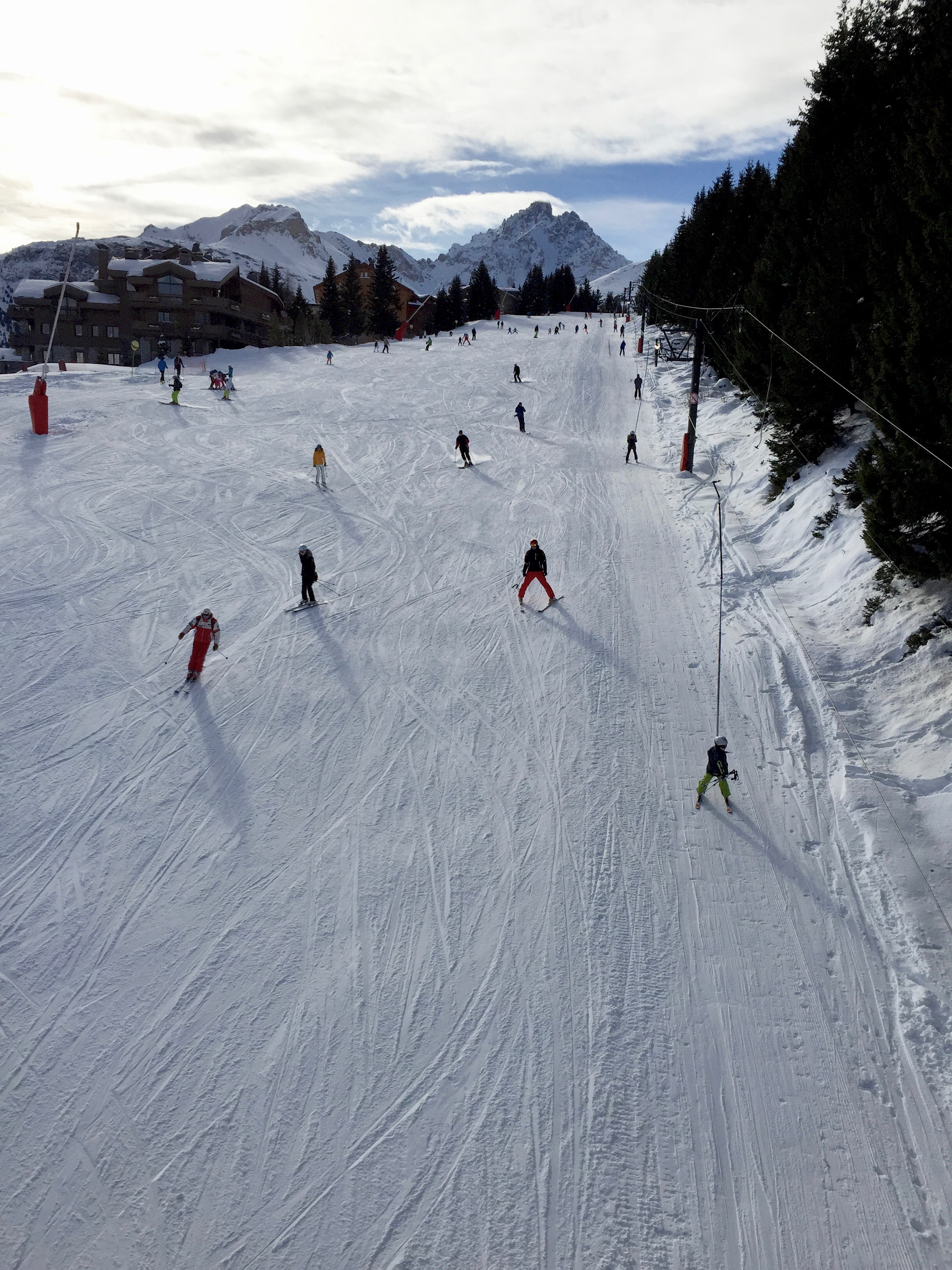 skiing france