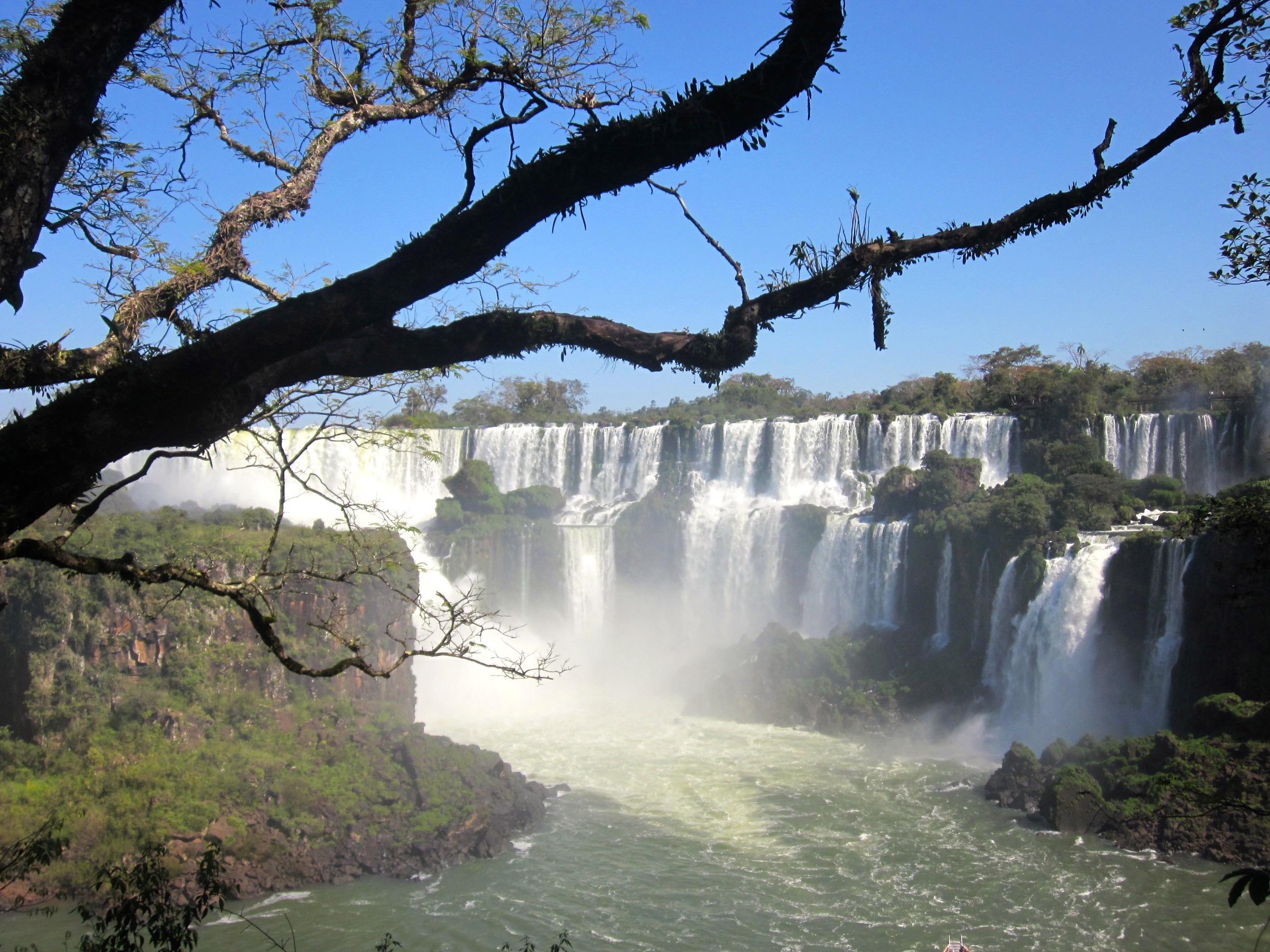 A Visit to Iguazu Falls