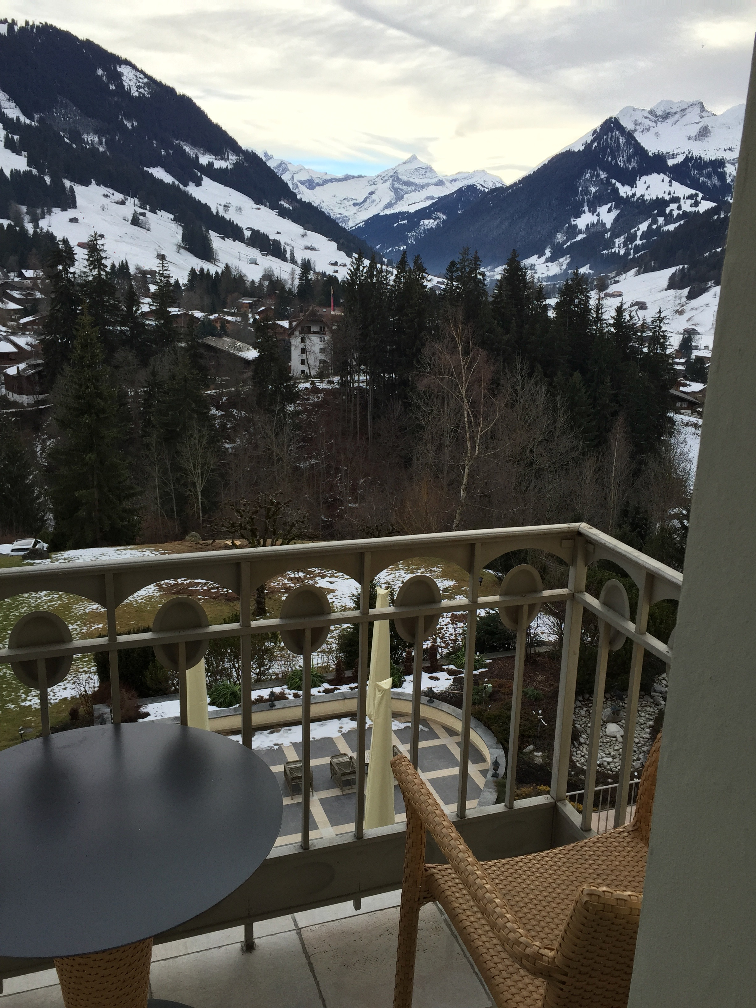 gastaad palace hotel view
