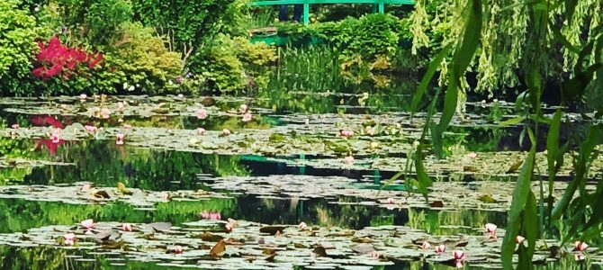Giverny – Fondation Claude Monet – visiting Monet's garden, driving from London