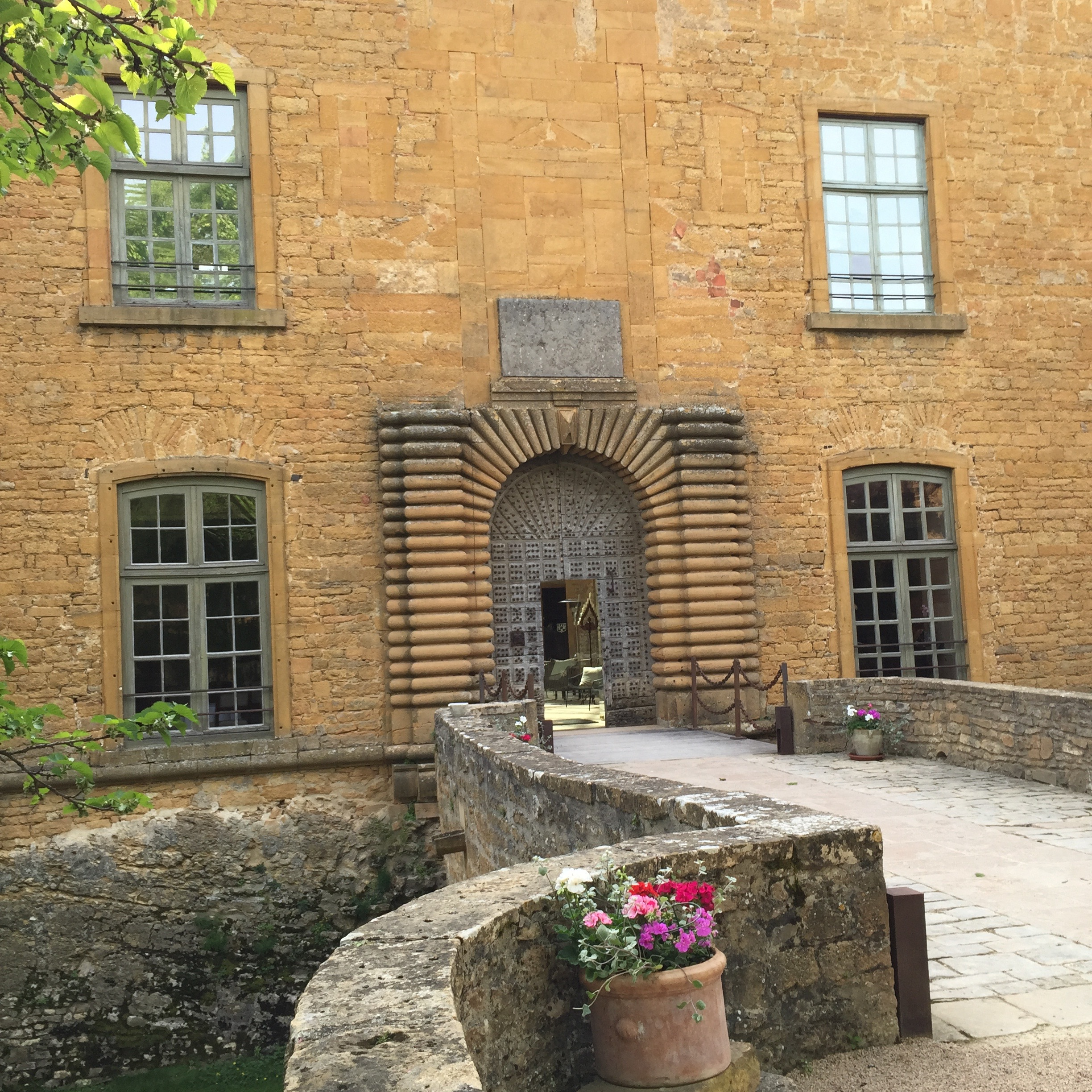 A Castle Fit For a King  – Chateau de Bagnols, near Lyon