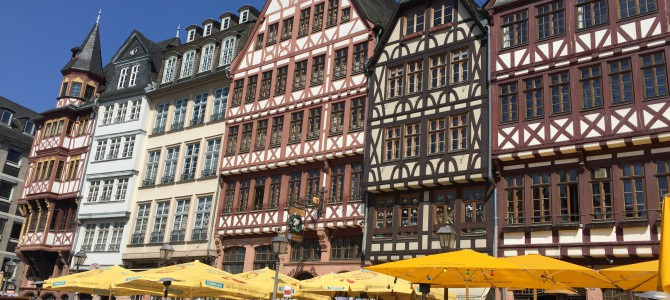 Frankfurt city visit – a perfect weekend getaway