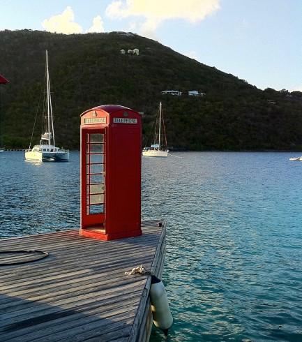 Marina Cay phone box
