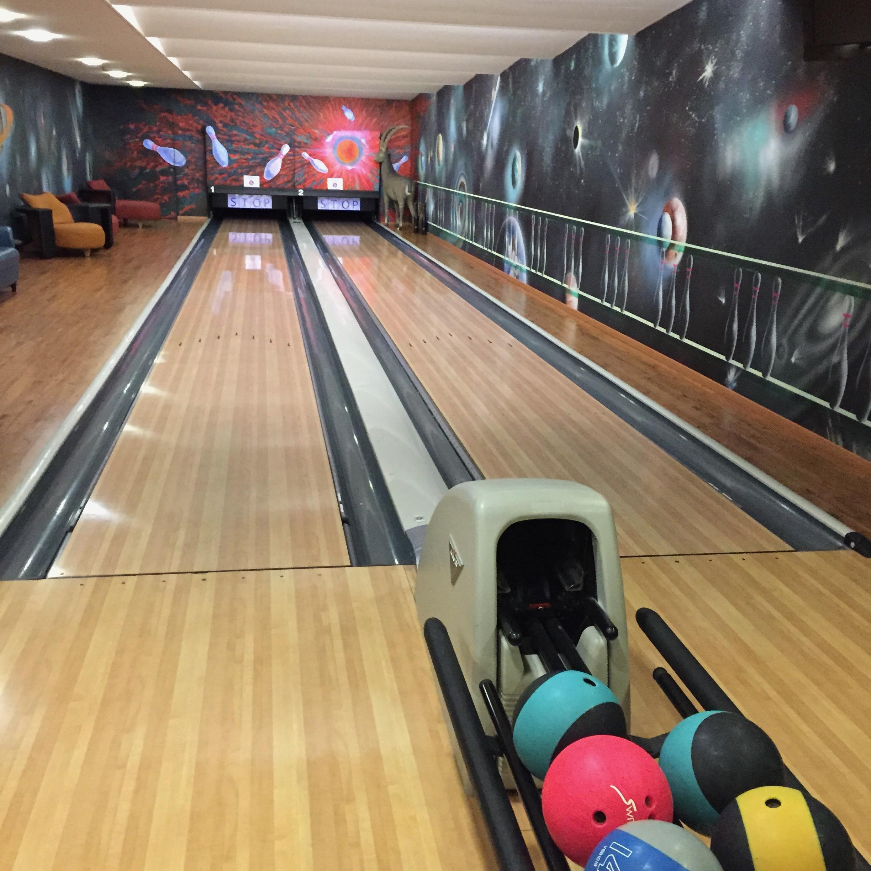 bowling alley riffelalp