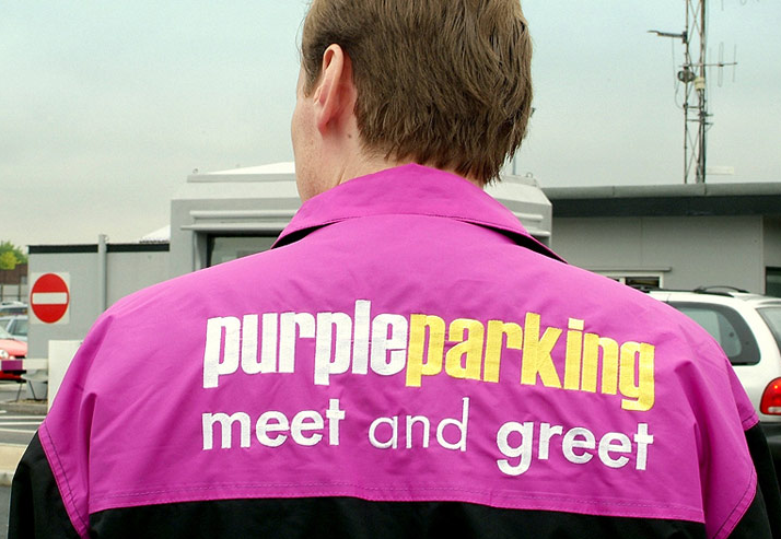 Purple Parking 'meet and greet' at London Heathrow airport