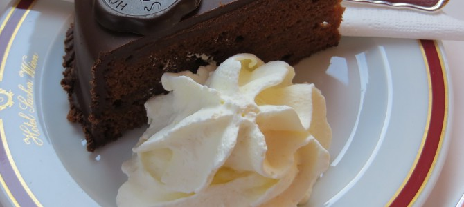 Hotel Sacher, Vienna – and a piece of cake