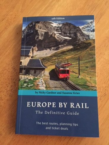 europe by rail frint cover 15th edition