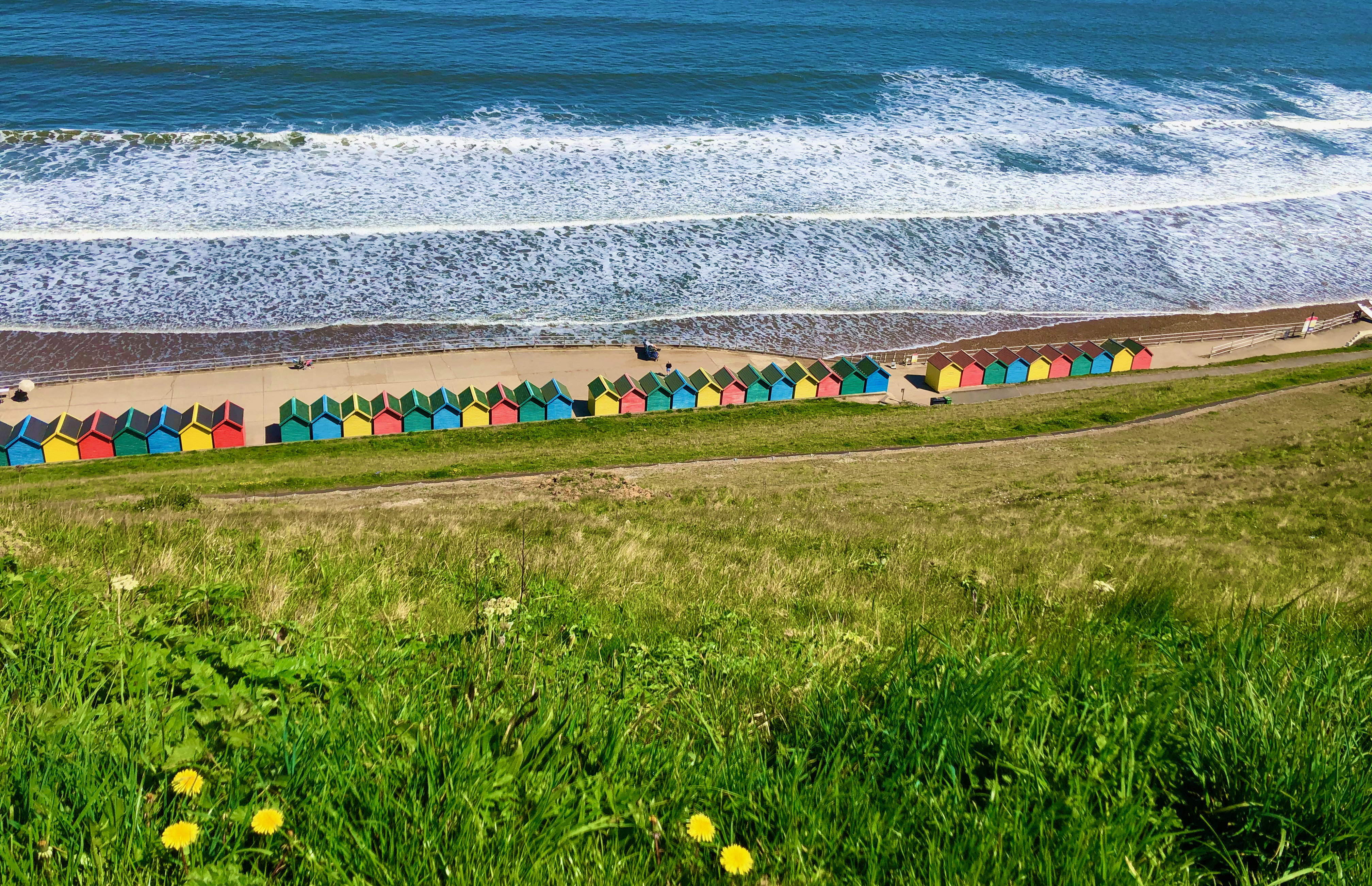 A day trip to the seaside town of Whitby in Yorkshire